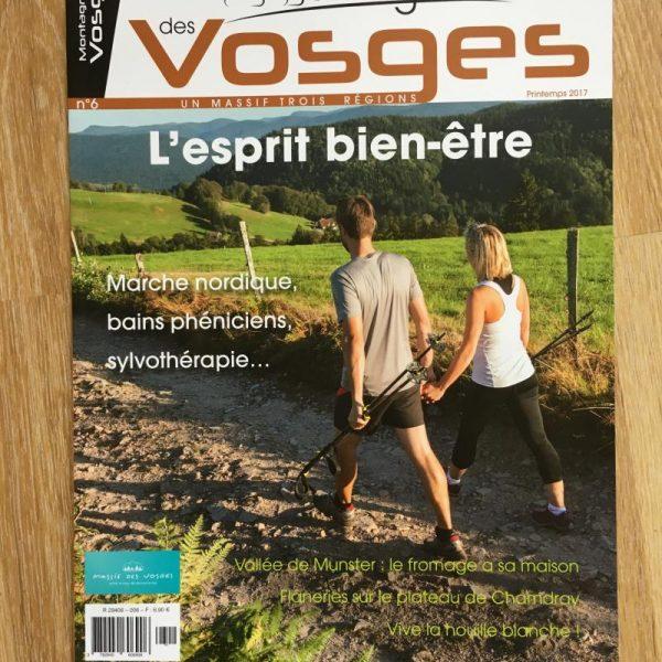magazine montagnes des vosges
