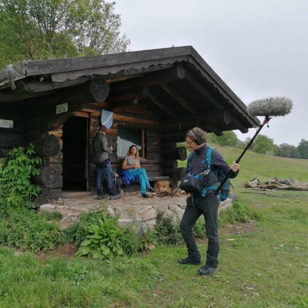 scène de tournage les plus beaux trecks